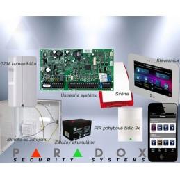 Paradox set DIGIPLEX EVO/9 TM50LCD+GSM PCS250