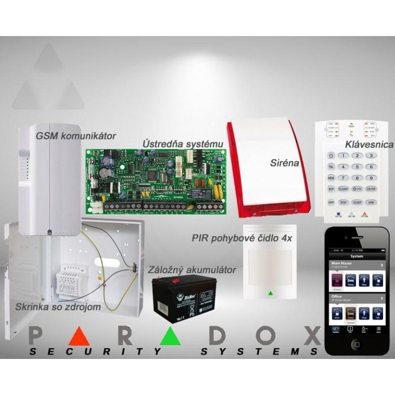 Paradox sada SP/3 K10LED+ GSM PCS250